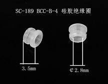 sc-189  硅胶绝缘圈