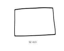 sc-015   硅胶密封垫